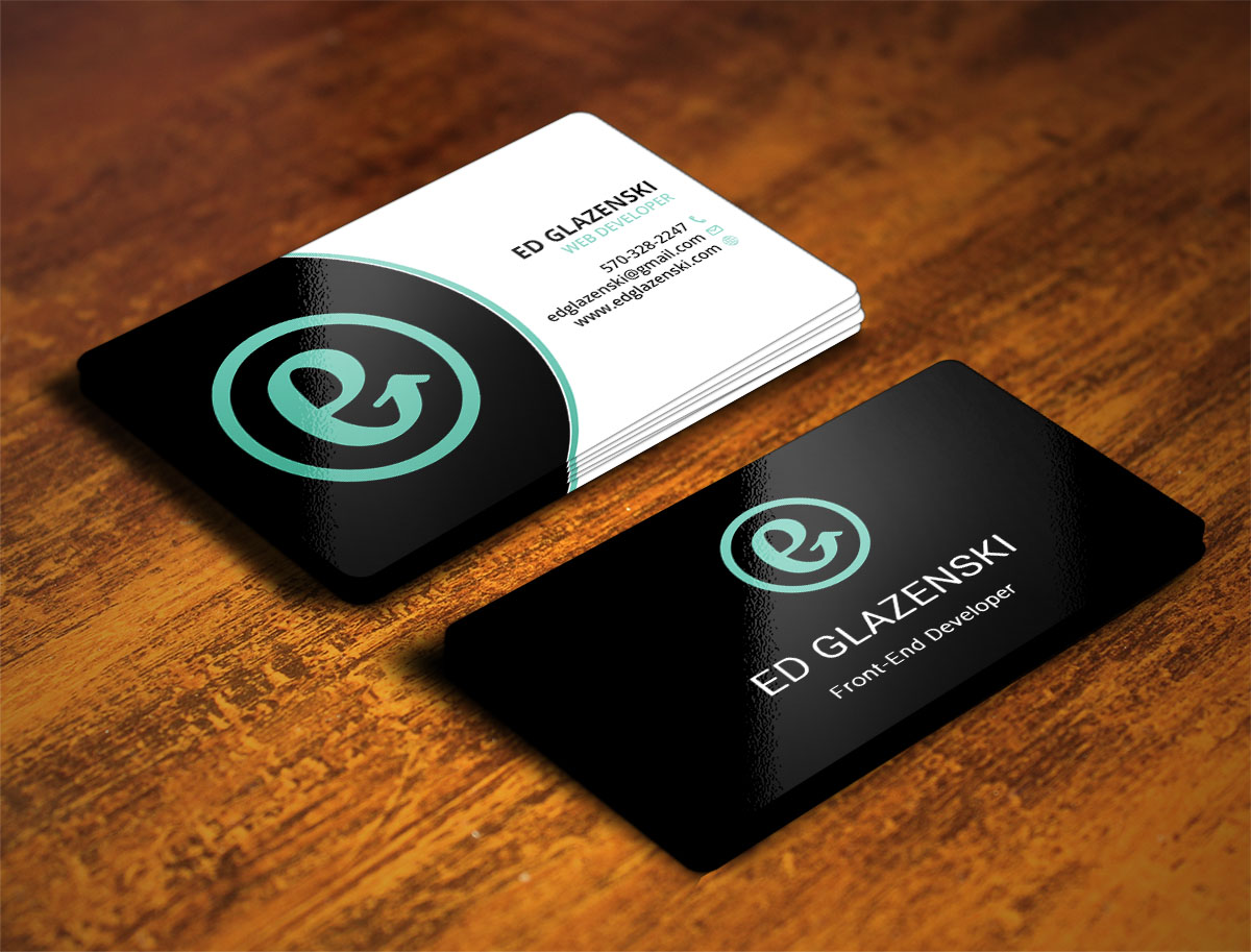 Business Cards And Website Design Images - Card Design And Card Template