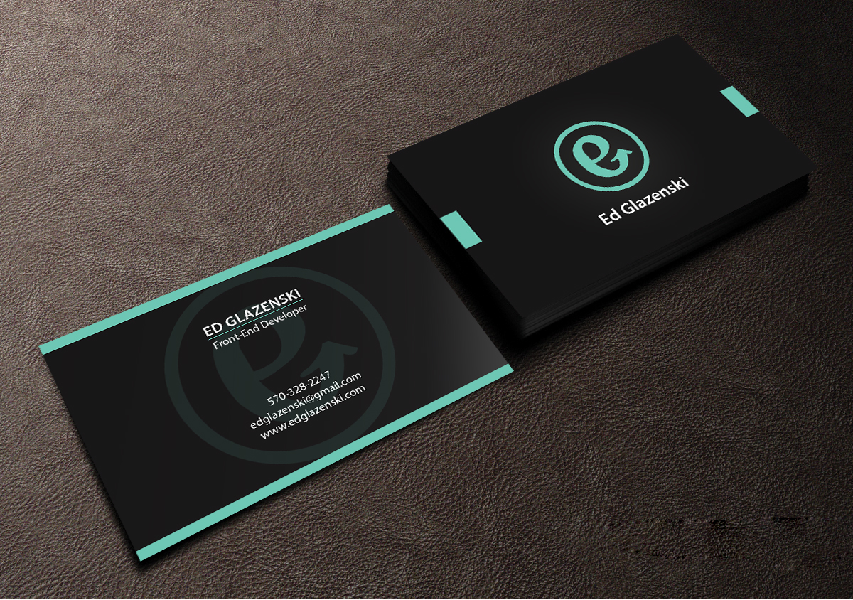 Bold modern business business card design for eg web design by bold modern business business card design for eg web design in united states design 8497735 colourmoves