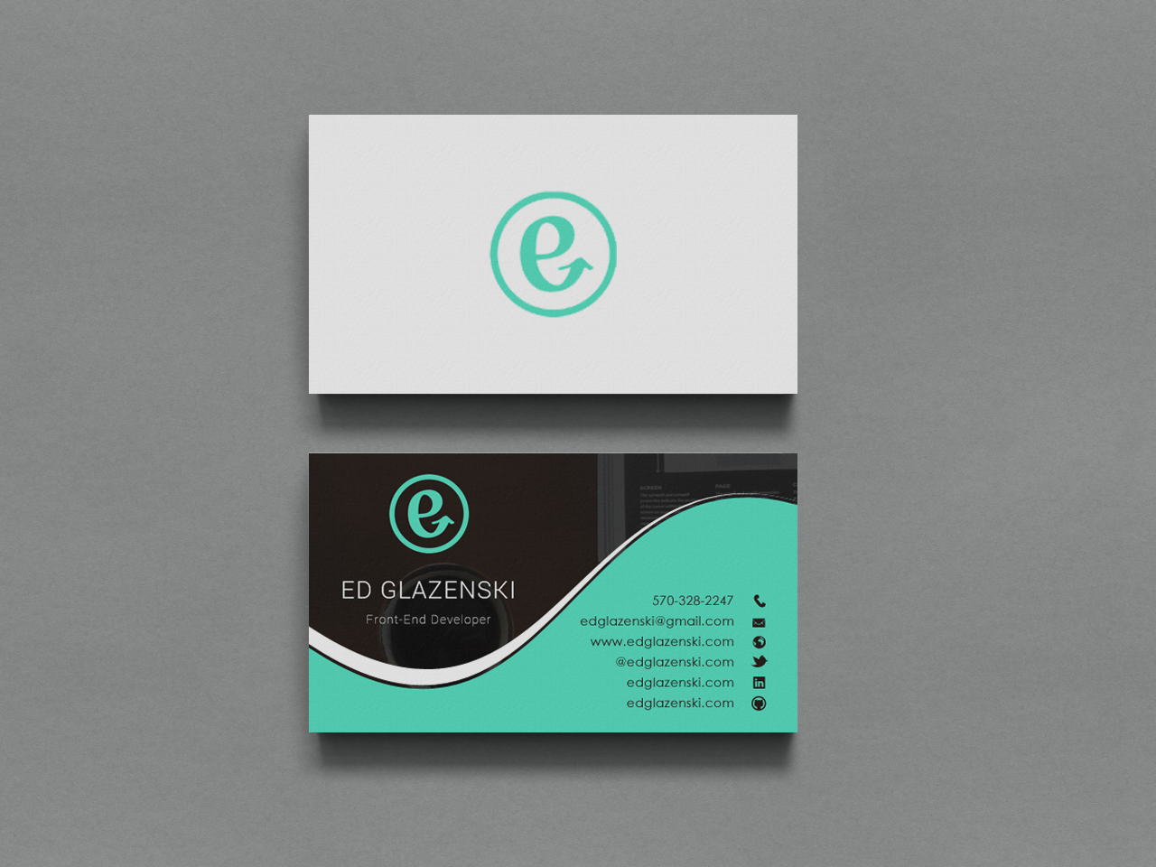 Bold modern business business card design for eg web design by bold modern business business card design for eg web design in united states design 8496679 colourmoves