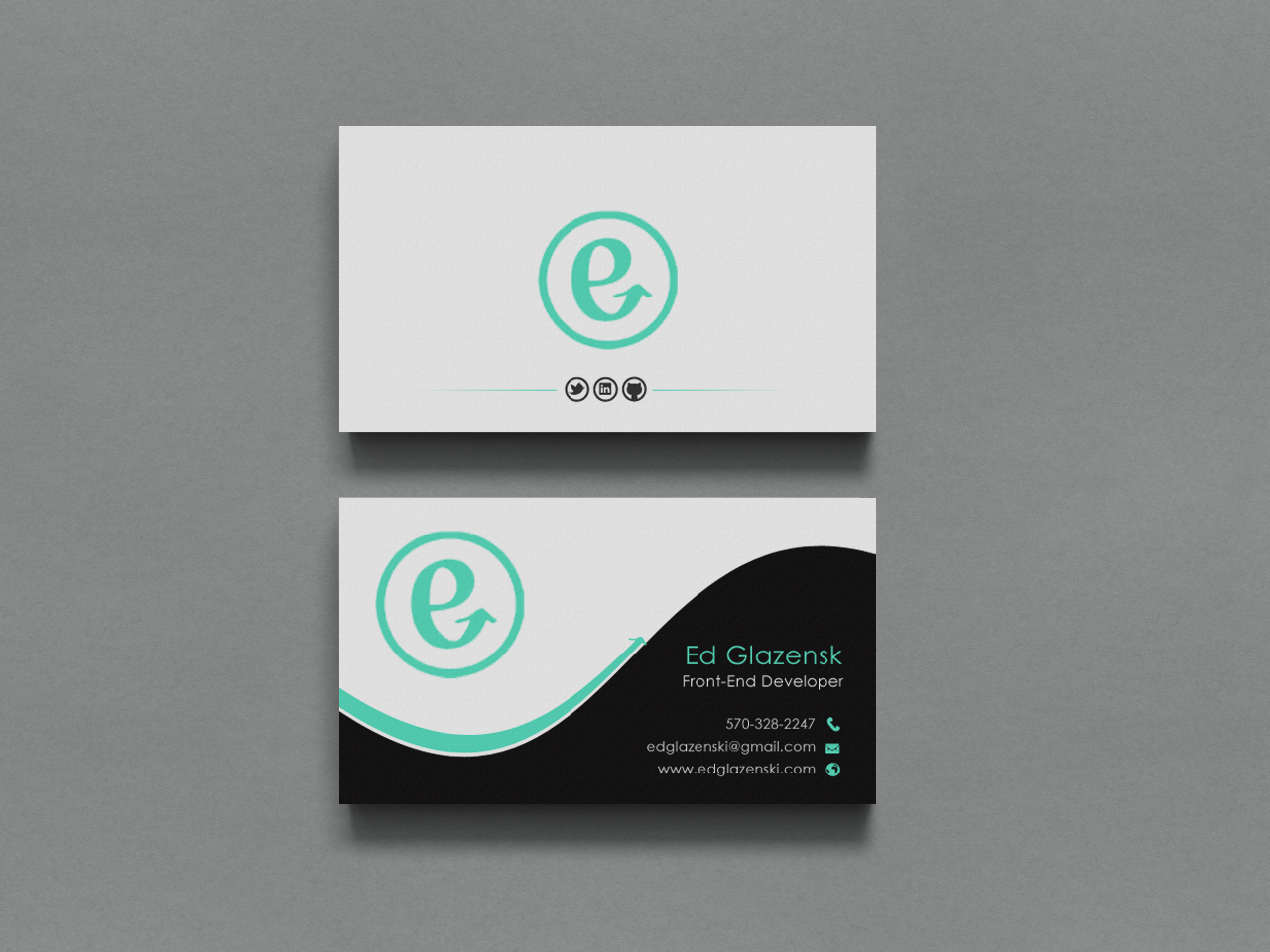Bold Modern Business Business Card Design For Eg Web