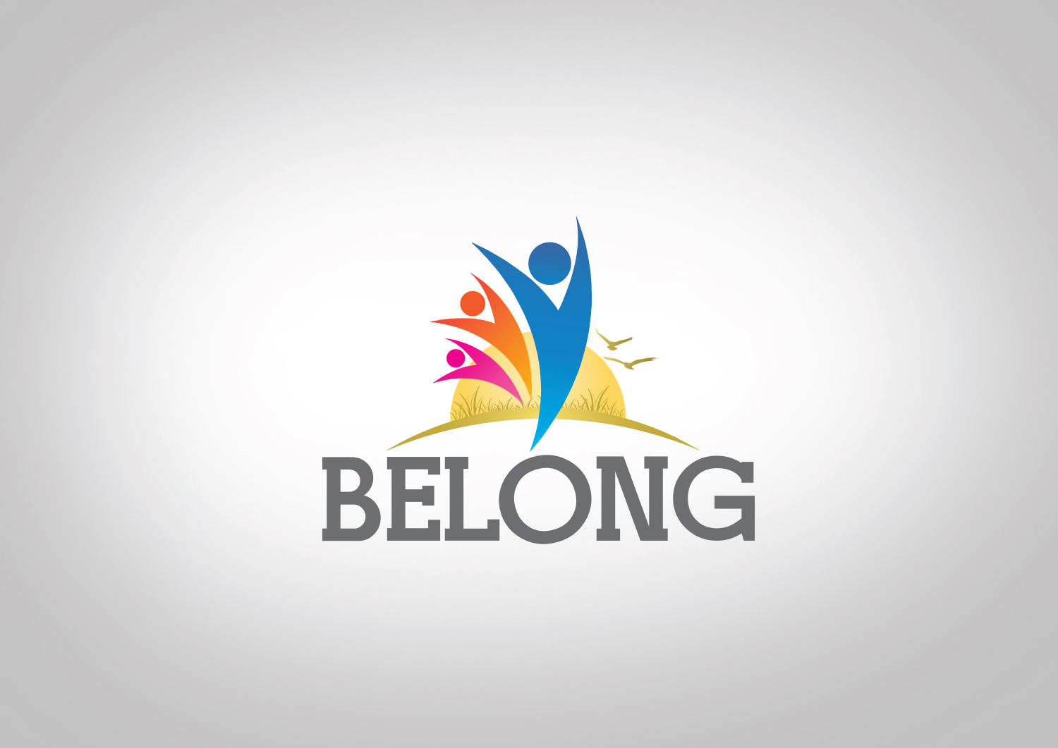 Playful, Modern, Ministry Logo Design for Belong by dm ...