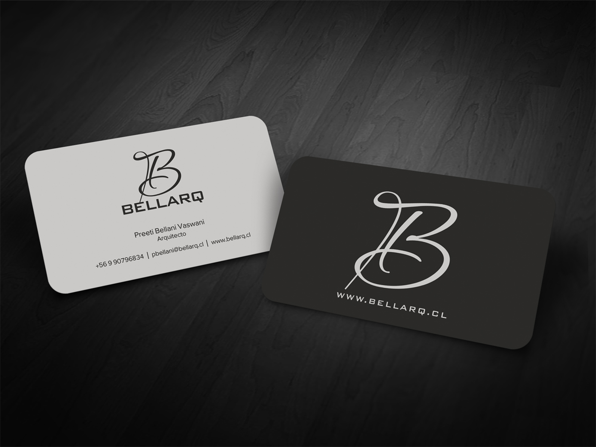 Business Card Design for Preeti Bellani by diRtY.EMM | Design #1994874