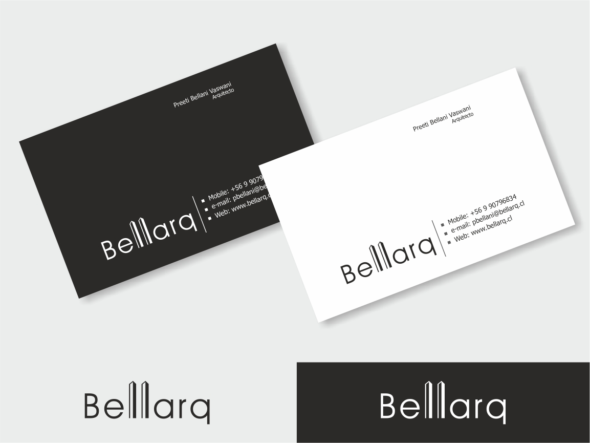 Business Card Design for Preeti Bellani by Logocraft | Design #2053624