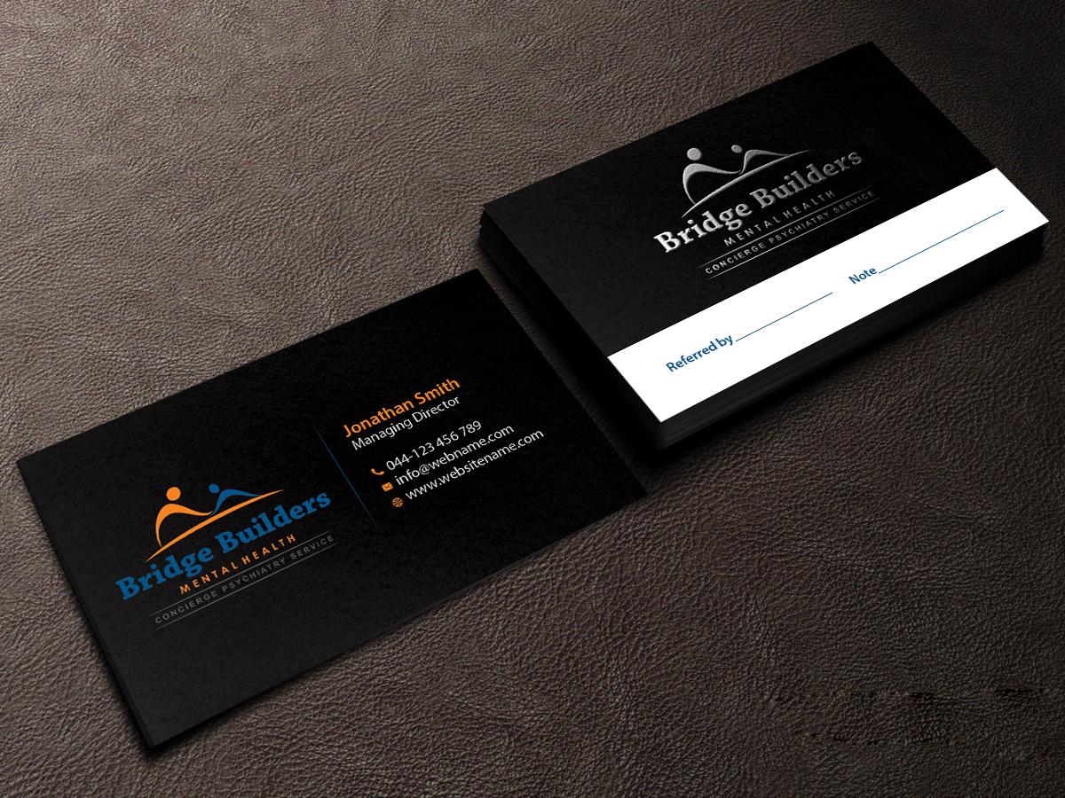 Upmarket, Bold, Health Care Business Card Design for a