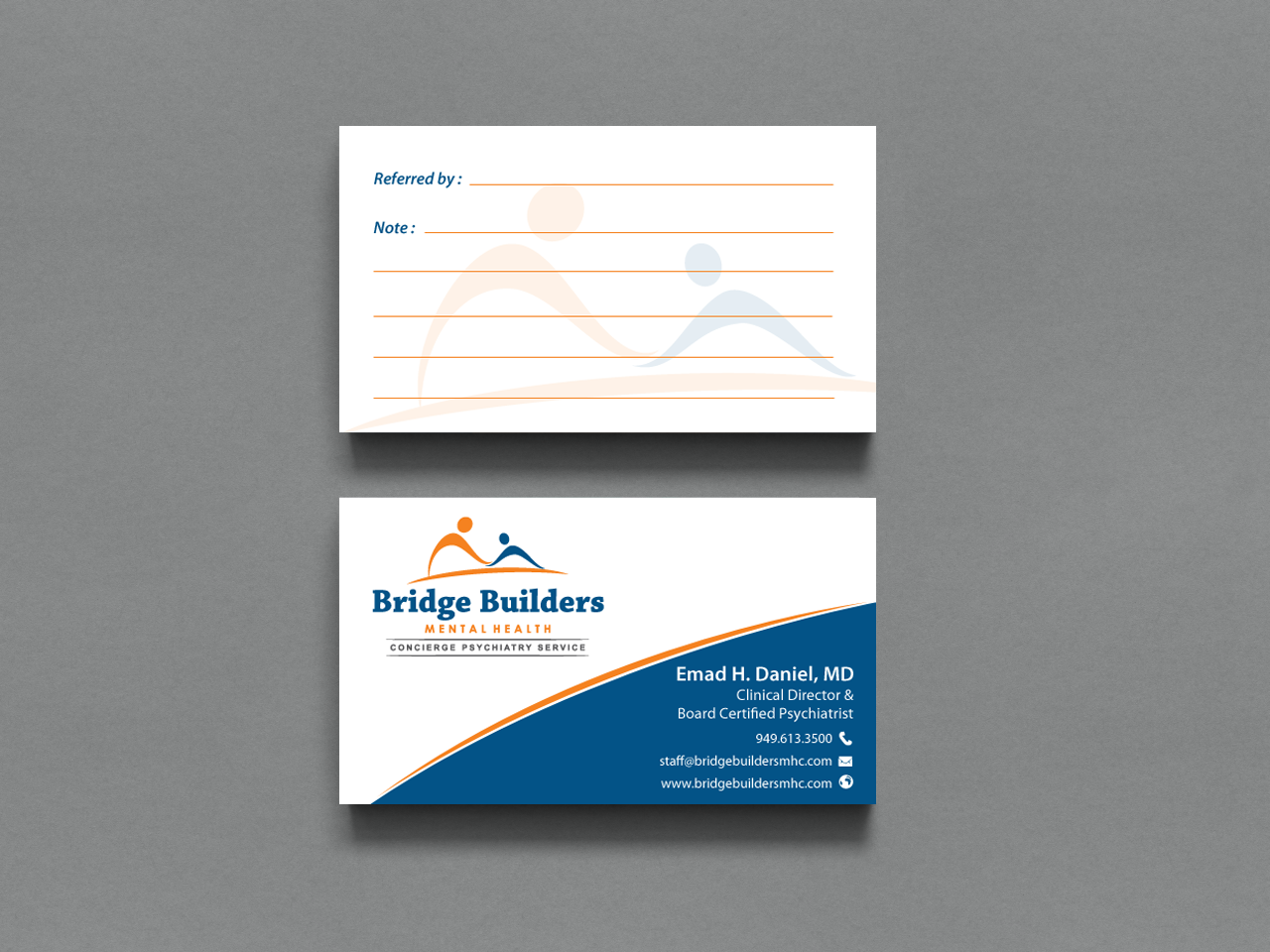 Upmarket, Bold, Health Care Business Card Design for a Company by ...