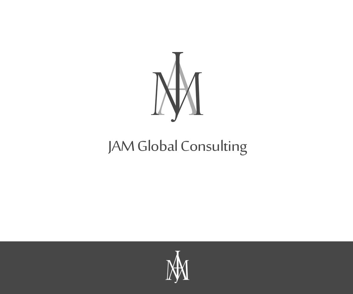 Elegant feminine consulting logo design for jam global for Global design consultancy