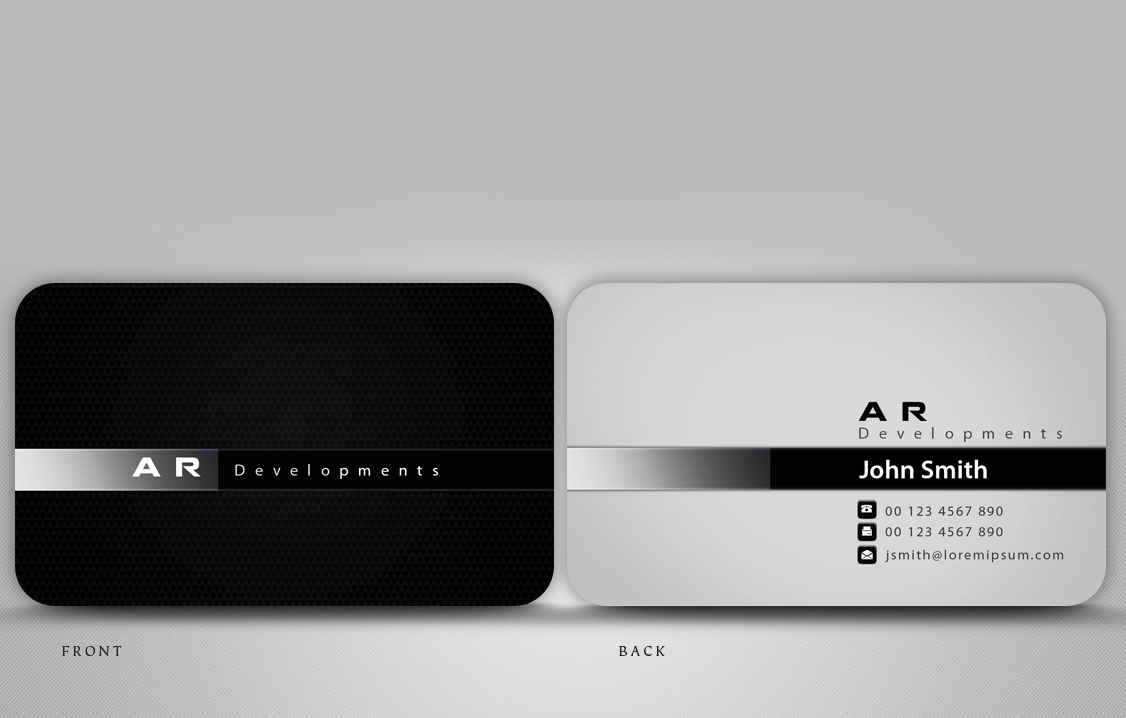 Business Card Design design for Ben Topalov a pany in
