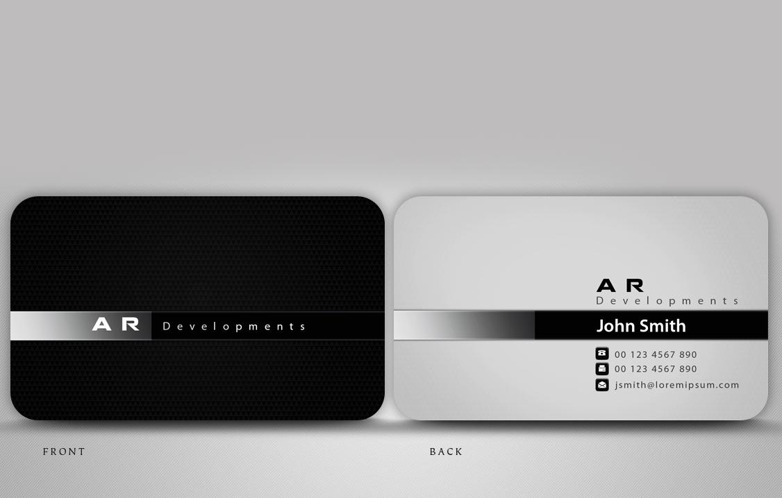 Business Card Design for Ben Topalov by disign | Design #404334