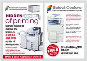 Flyer Design by Atvento Graphics - Hidden Cost of Print - Flyer A4