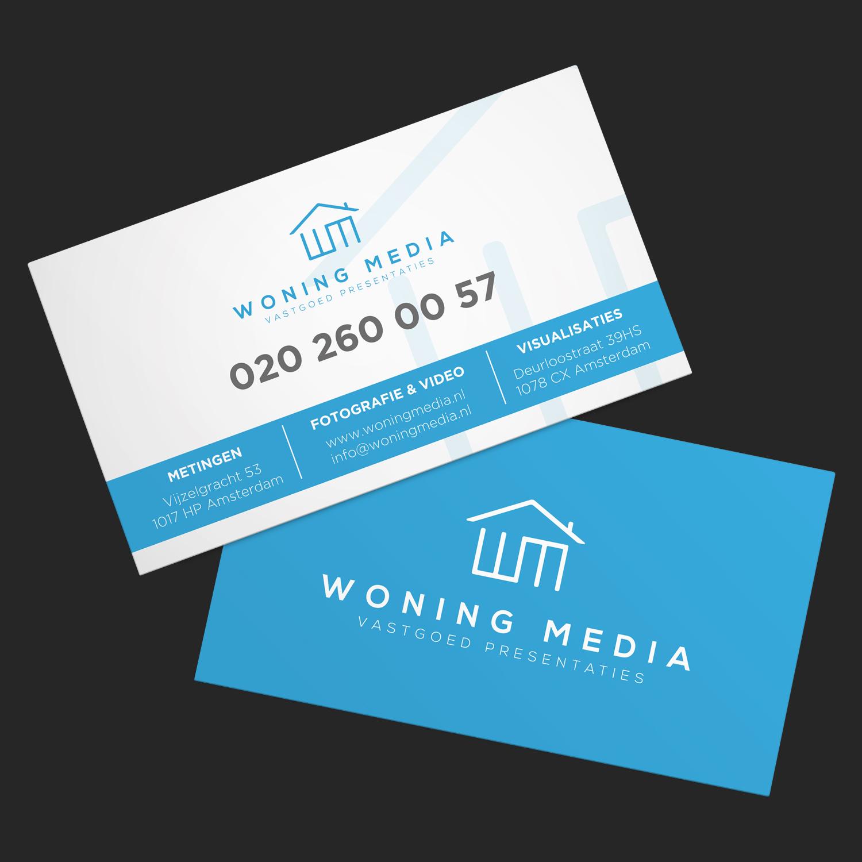 Modern, Professional, Business Business Card Design for Woning Media ...