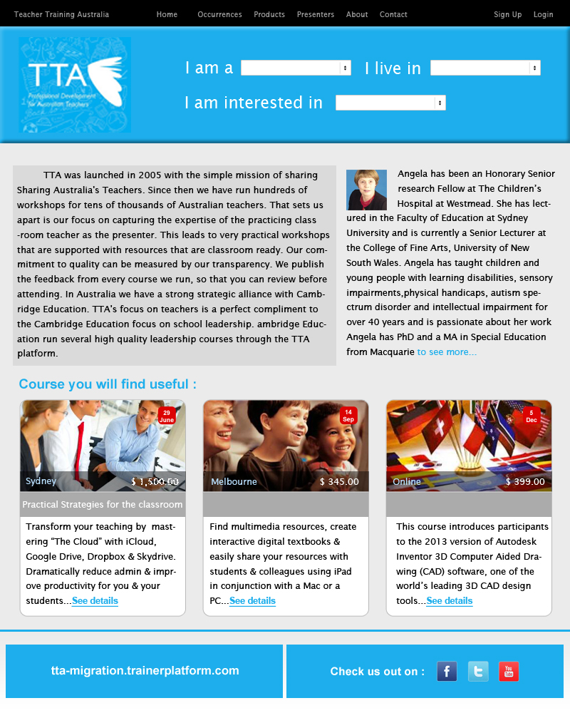 Modern serious newsletter design for tta by for Modern newsletter design