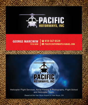 144 business card designs business business card design project business card design by sandaruwan for pacific rotorways inc design 8531043 reheart Choice Image