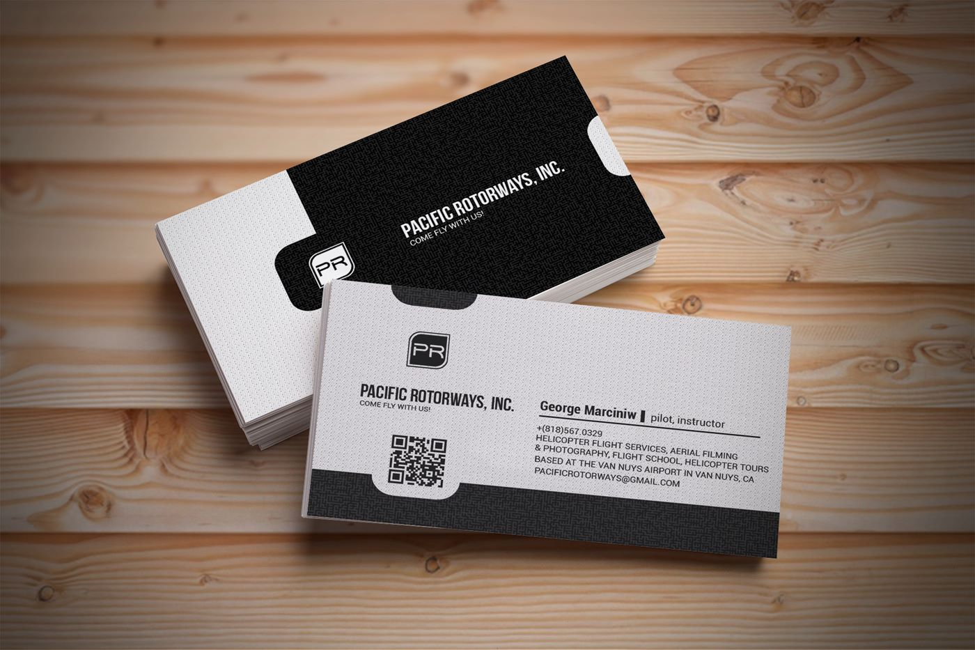 Business business card design for pacific rotorways inc by matej business business card design for pacific rotorways inc in united states design 9191348 reheart Choice Image