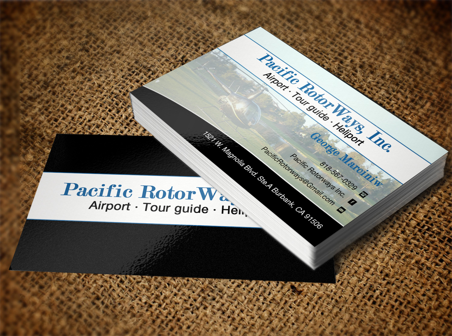 Business business card design for pacific rotorways inc by business business card design for pacific rotorways inc in united states design 8530057 colourmoves