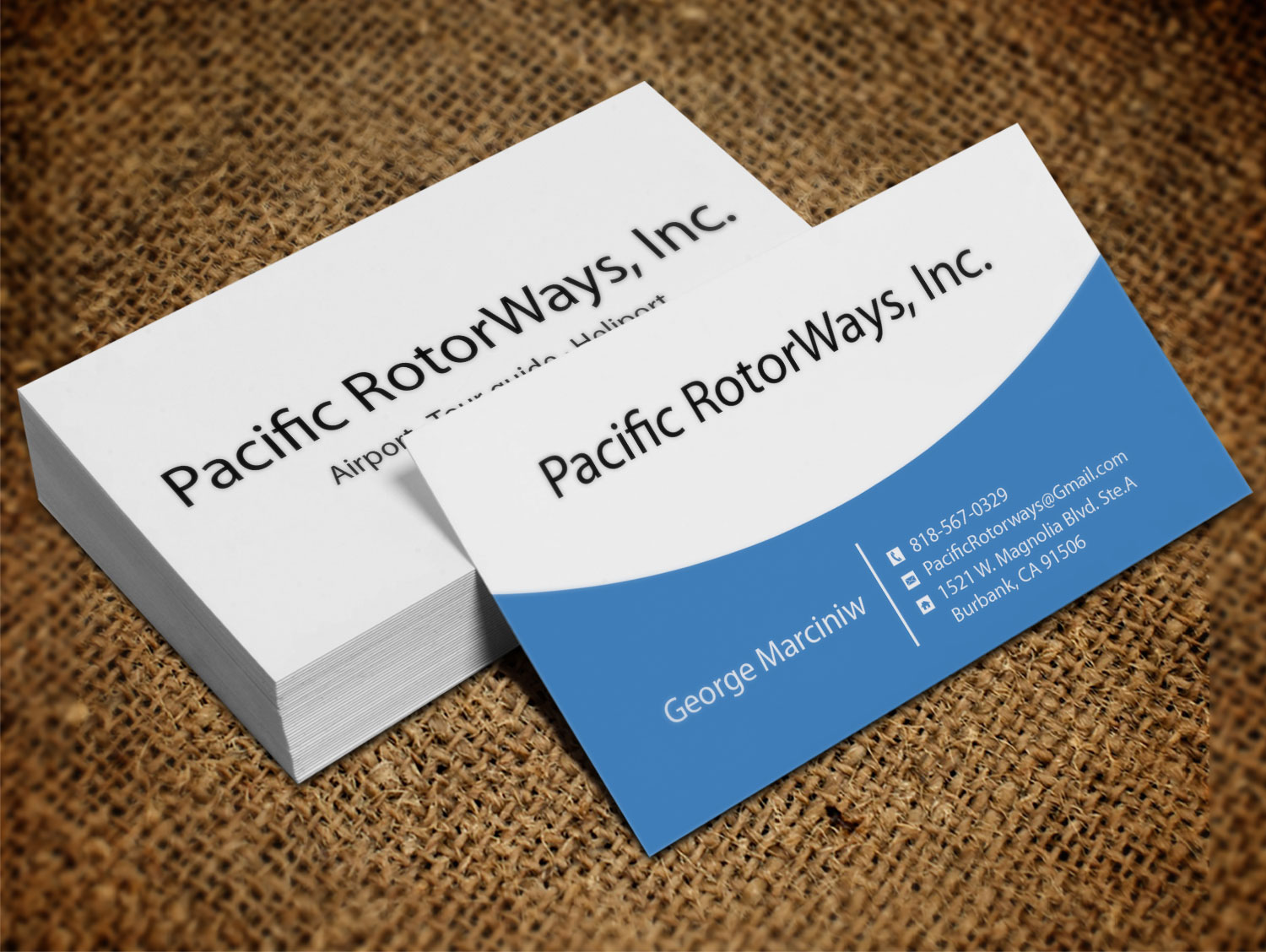 Business business card design for pacific rotorways inc by business business card design for pacific rotorways inc in united states design 8530086 colourmoves