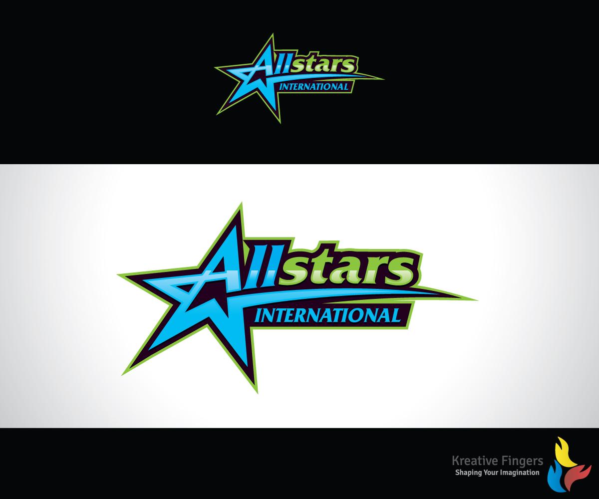 Modern bold business consultant logo design for allstars for International design company