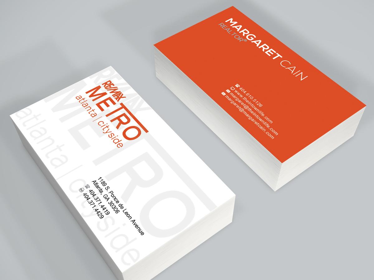 Design De Carte Visite Amusant Moderne Real Estate Agent Pour A Company En Aux United States