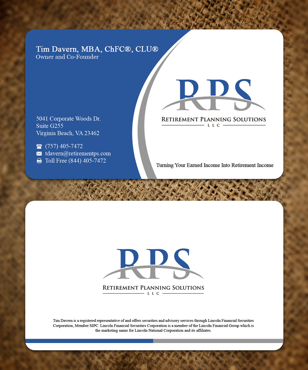 224 Conservative Business Card Designs | Financial Planning Business ...