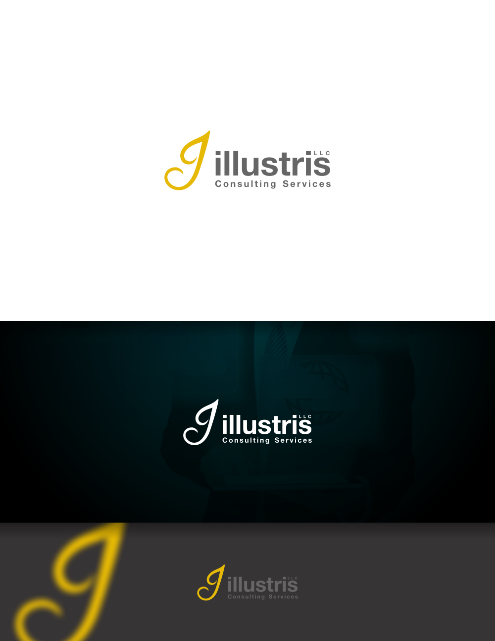 Professional upmarket information technology logo design for Design consulting services