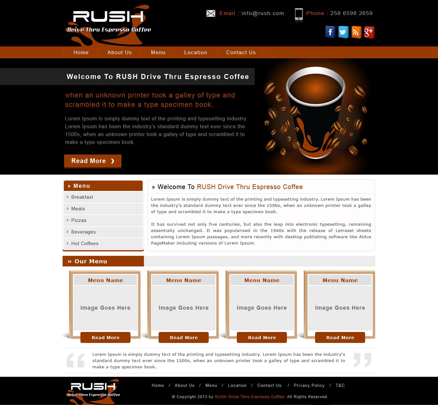 Modern Elegant Construction Web Design For Danjon Enterprises Pty