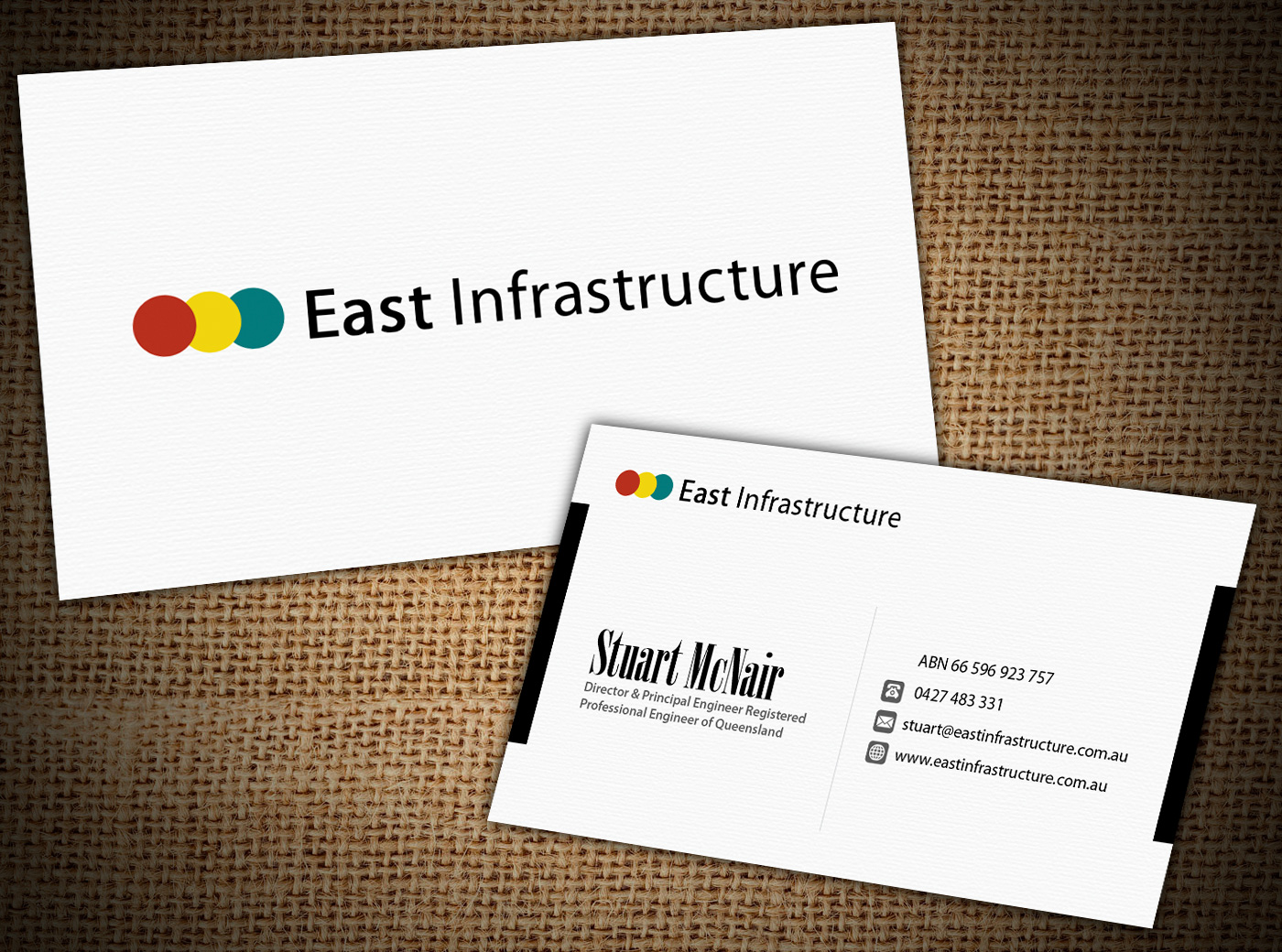 Bold professional business card design for stuart mcnair by business card design by akwebdesigner for business card design needed design 2039222 reheart Gallery