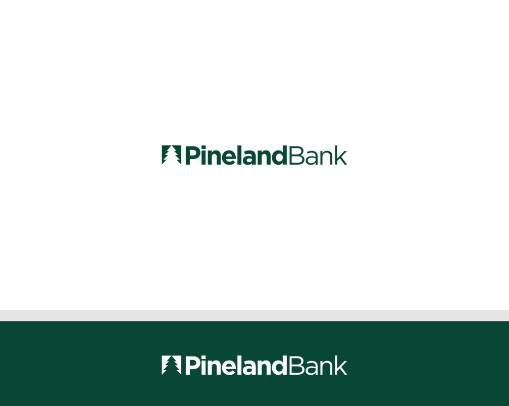 elegant playful bank logo design for pineland bank by wei shen design 9256677. Black Bedroom Furniture Sets. Home Design Ideas