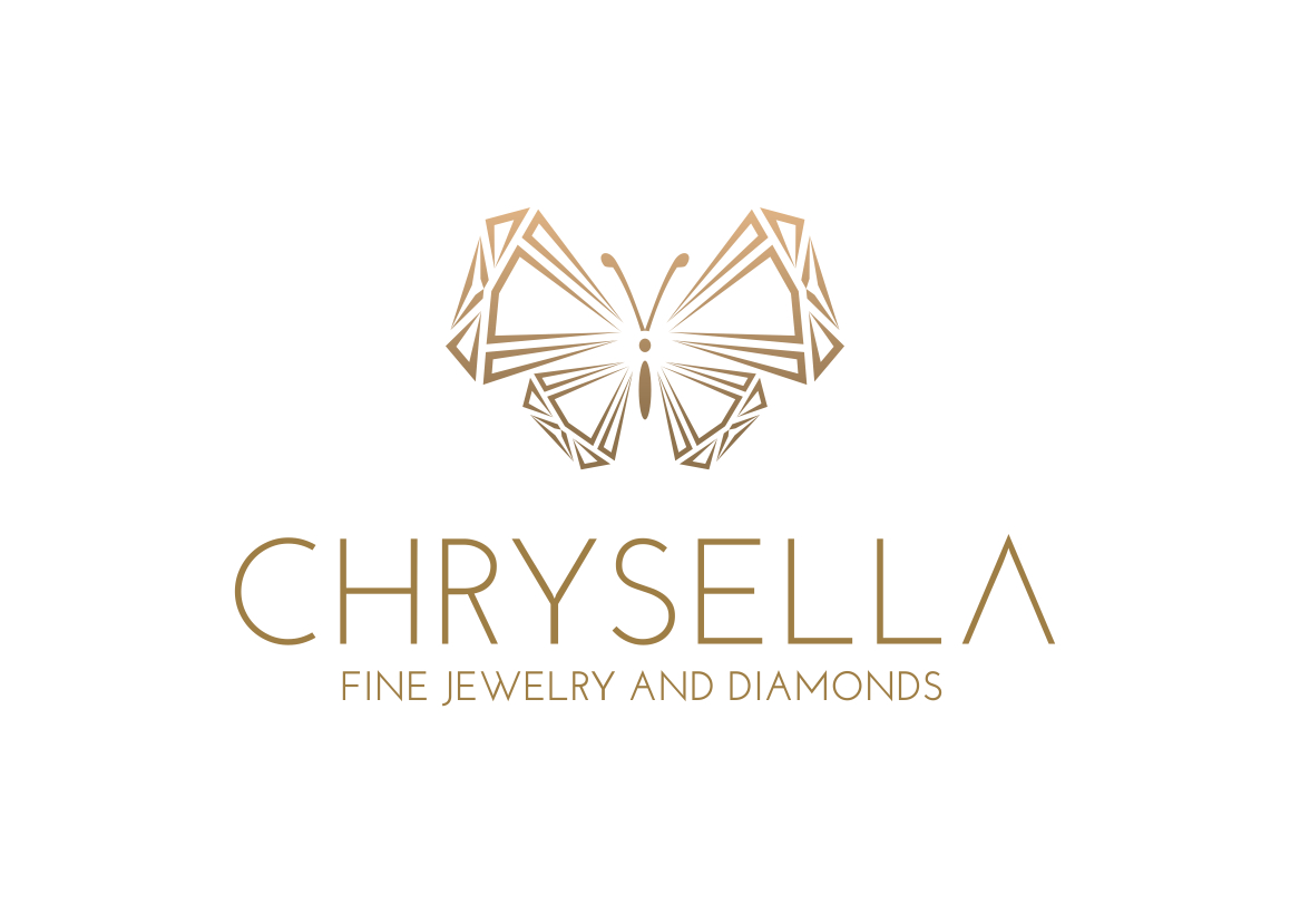 bold serious jewelry store logo design for chrysella