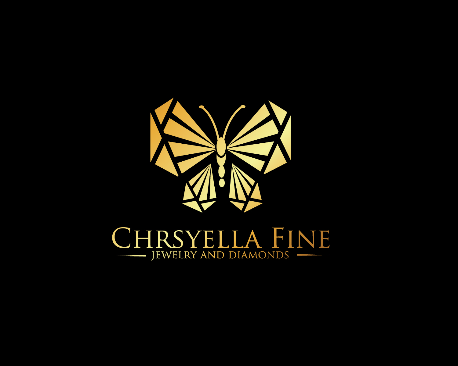 Bold serious jewelry store logo design for chrysella for Logo creation wizard