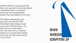 Blue Heron Capital | 43 Logo Designs for Blue Heron Capital LP