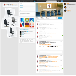 Twitter Design by nisarzenith