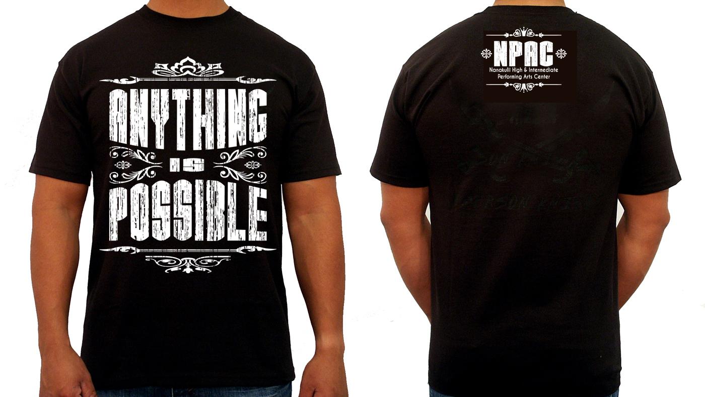 Design t shirt program - T Shirt Design By Creative50 For School Performing Arts Program Needs T Shirt Design