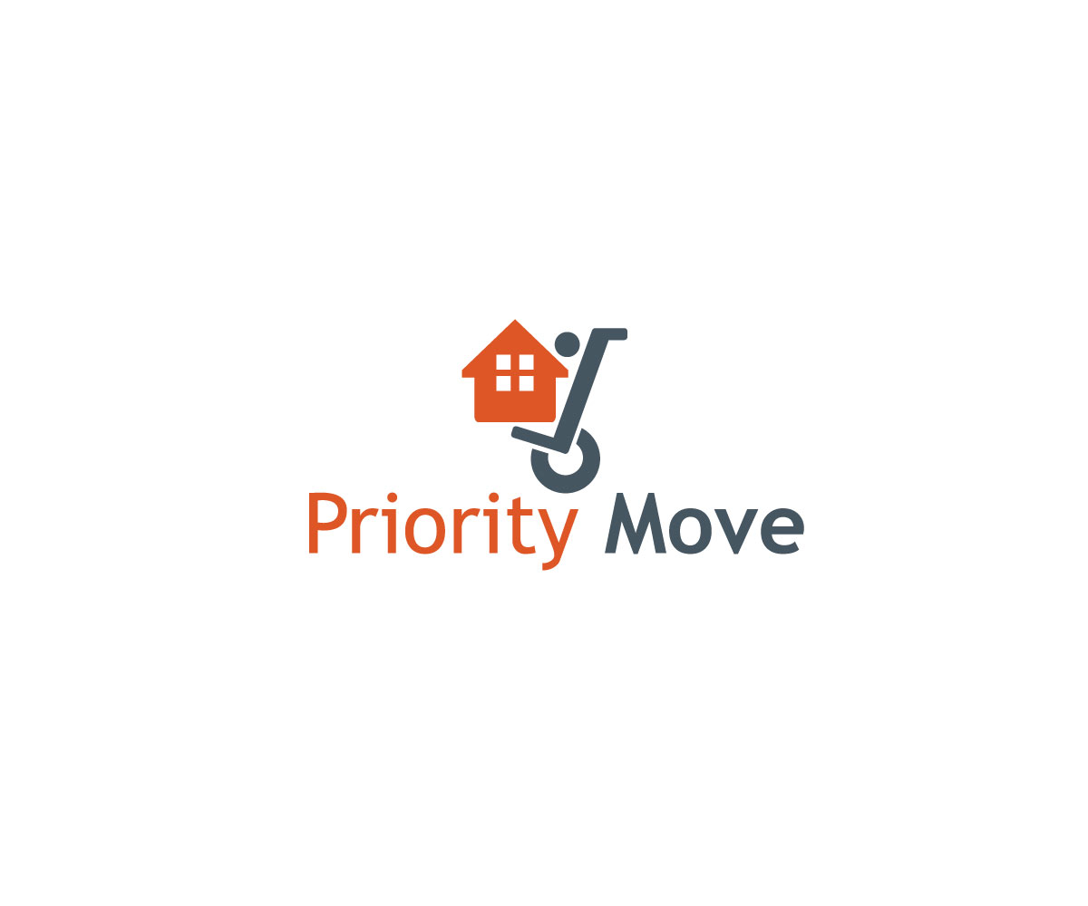 Modern Bold It Company Logo Design For Priority Move By Unicgraphs