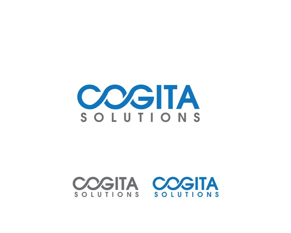 Business logo design for cogita solutions by wizard of art for Logo creation wizard