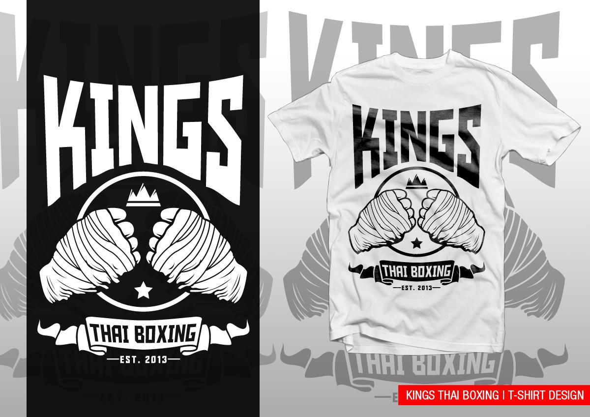 Professional Upmarket Gym T Shirt Design For Kings Thai
