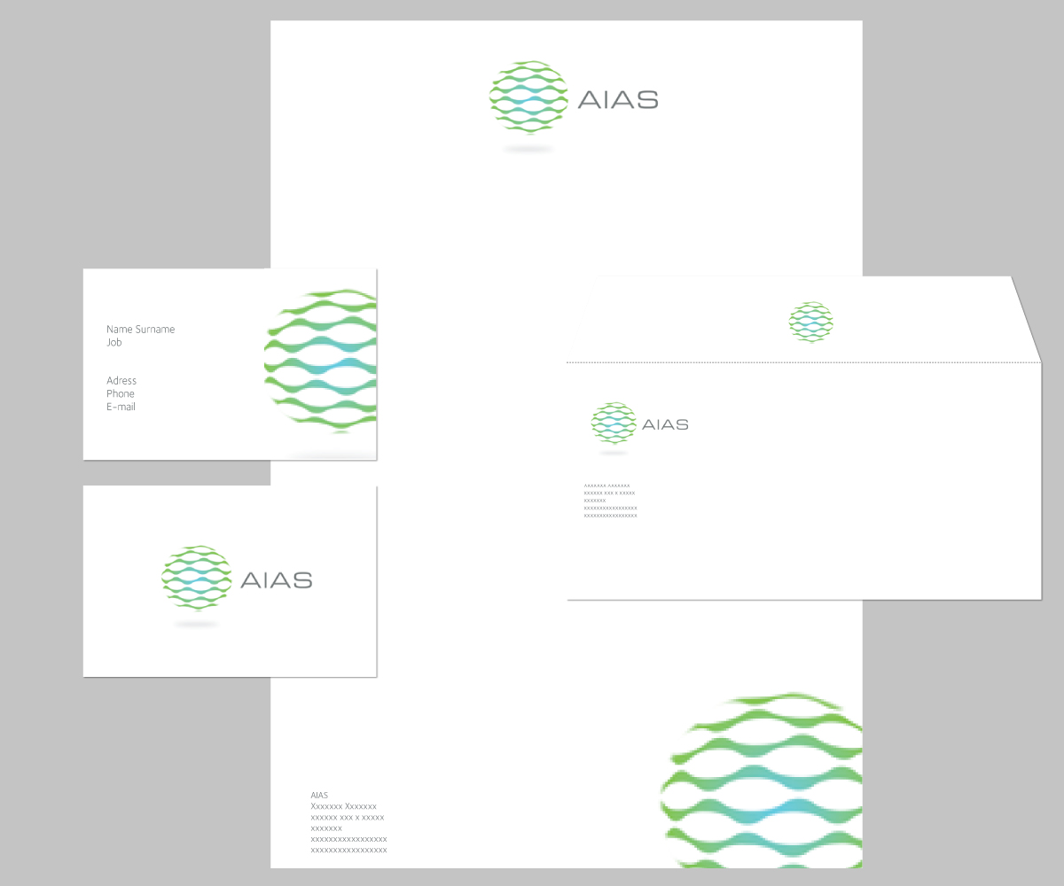 Character Design Job Singapore : Modern professional business stationery design for aias