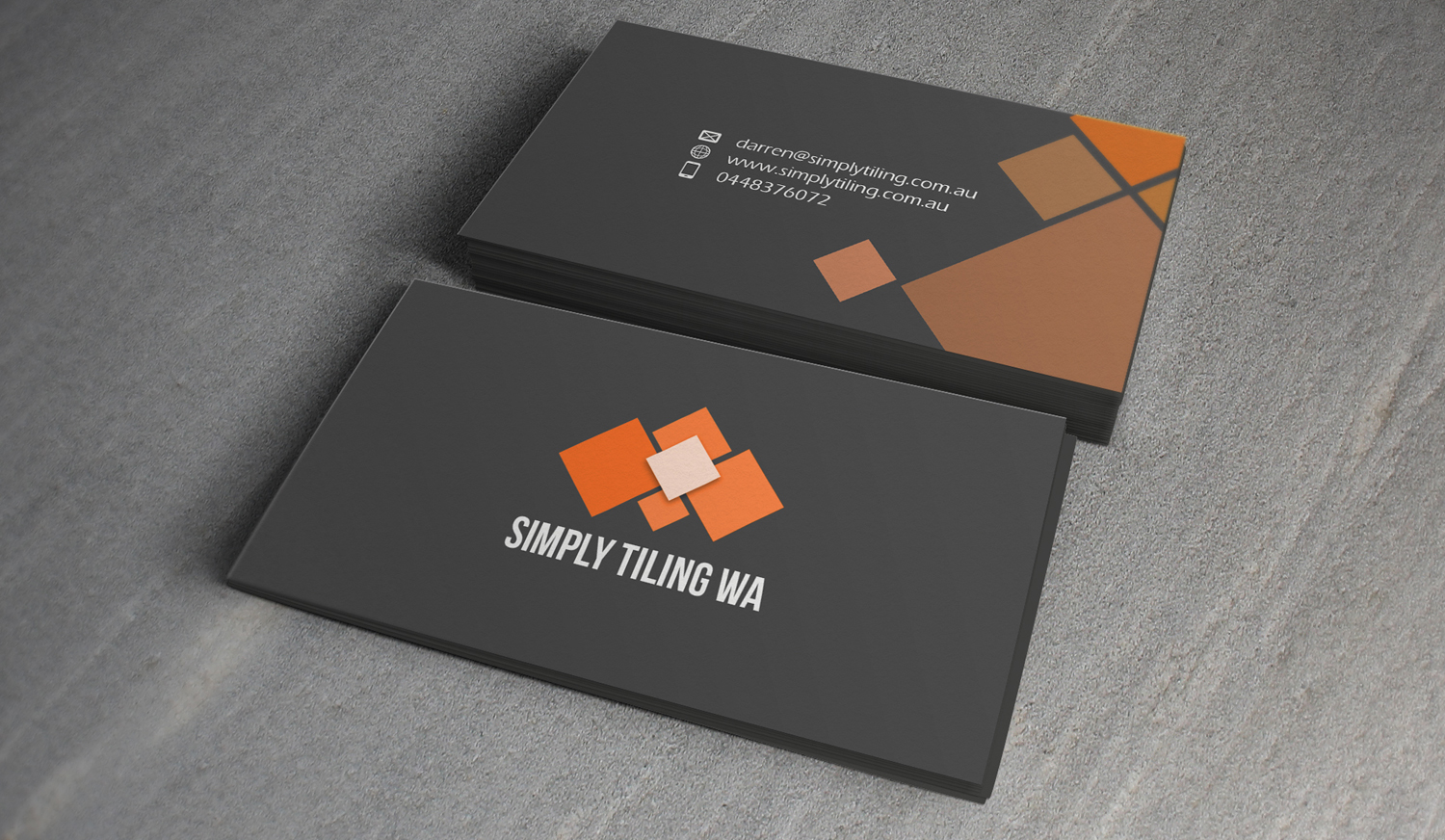 149 bold professional trade business card designs for a for Tiler business card