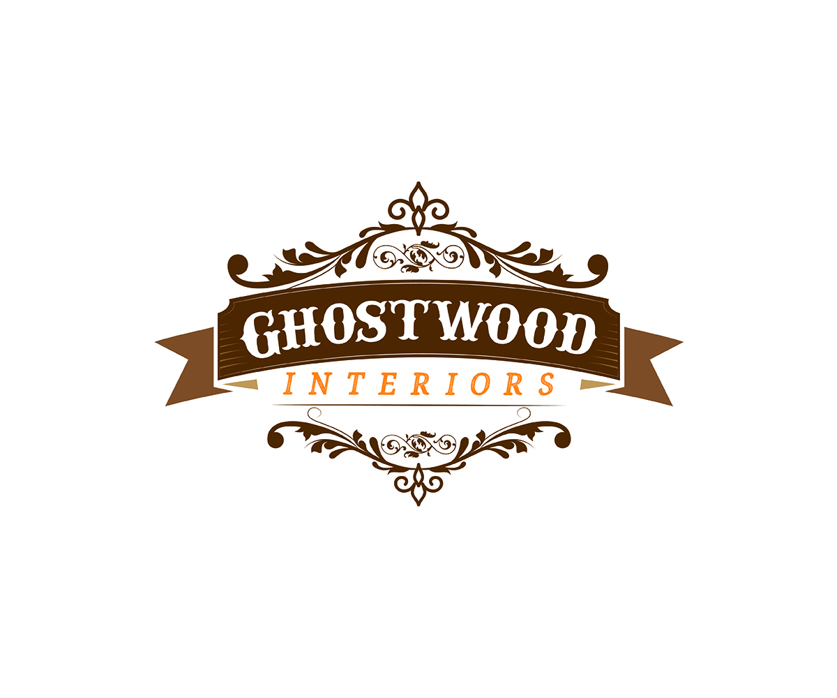 design de logo audacieux traditionnel furniture store pour ghostwood interiors par curly cat. Black Bedroom Furniture Sets. Home Design Ideas