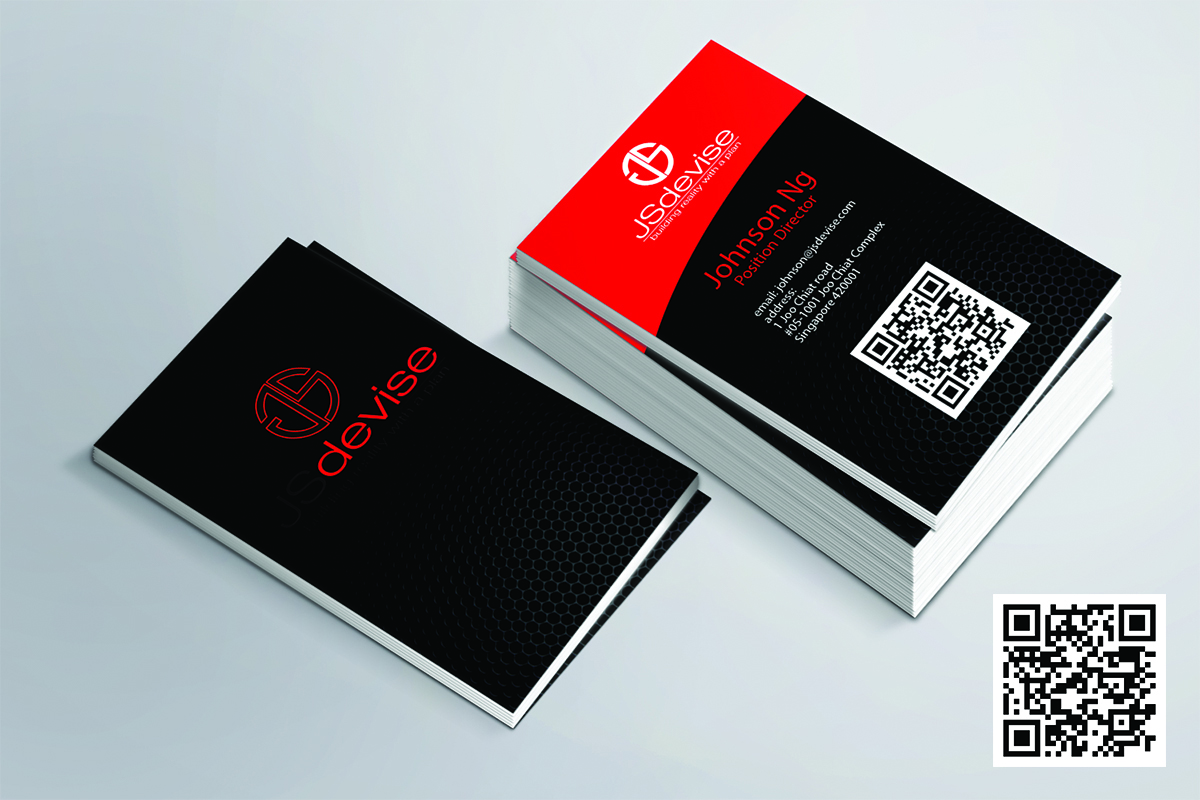 Elegant Playful Contractor Business Card Design For A Company By