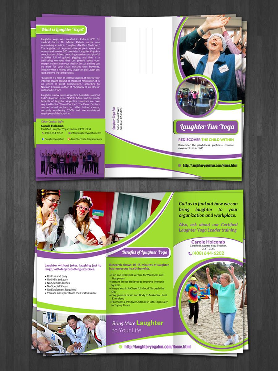 22 Elegant Flyer Designs | Flyer Design Project for Laughter Yoga Fun