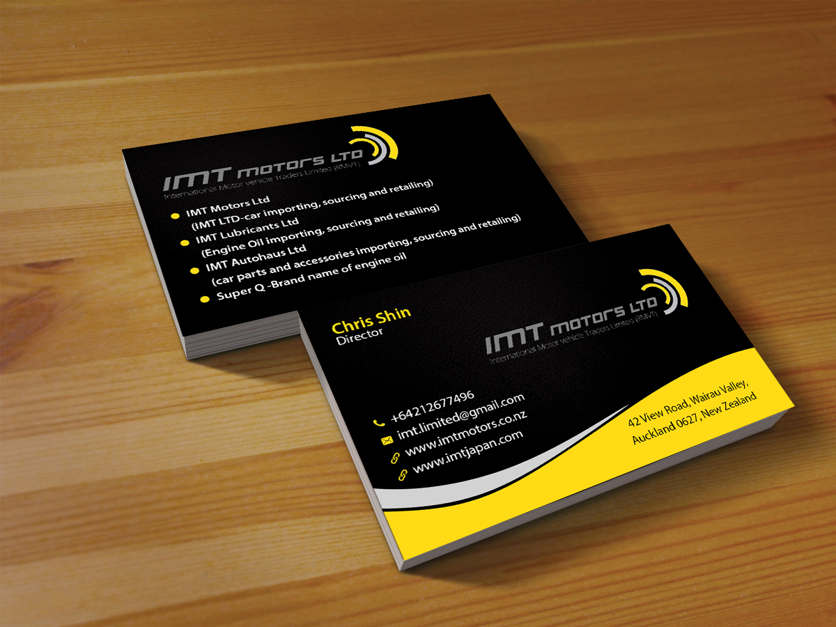 basic principles of business card design best business 2017