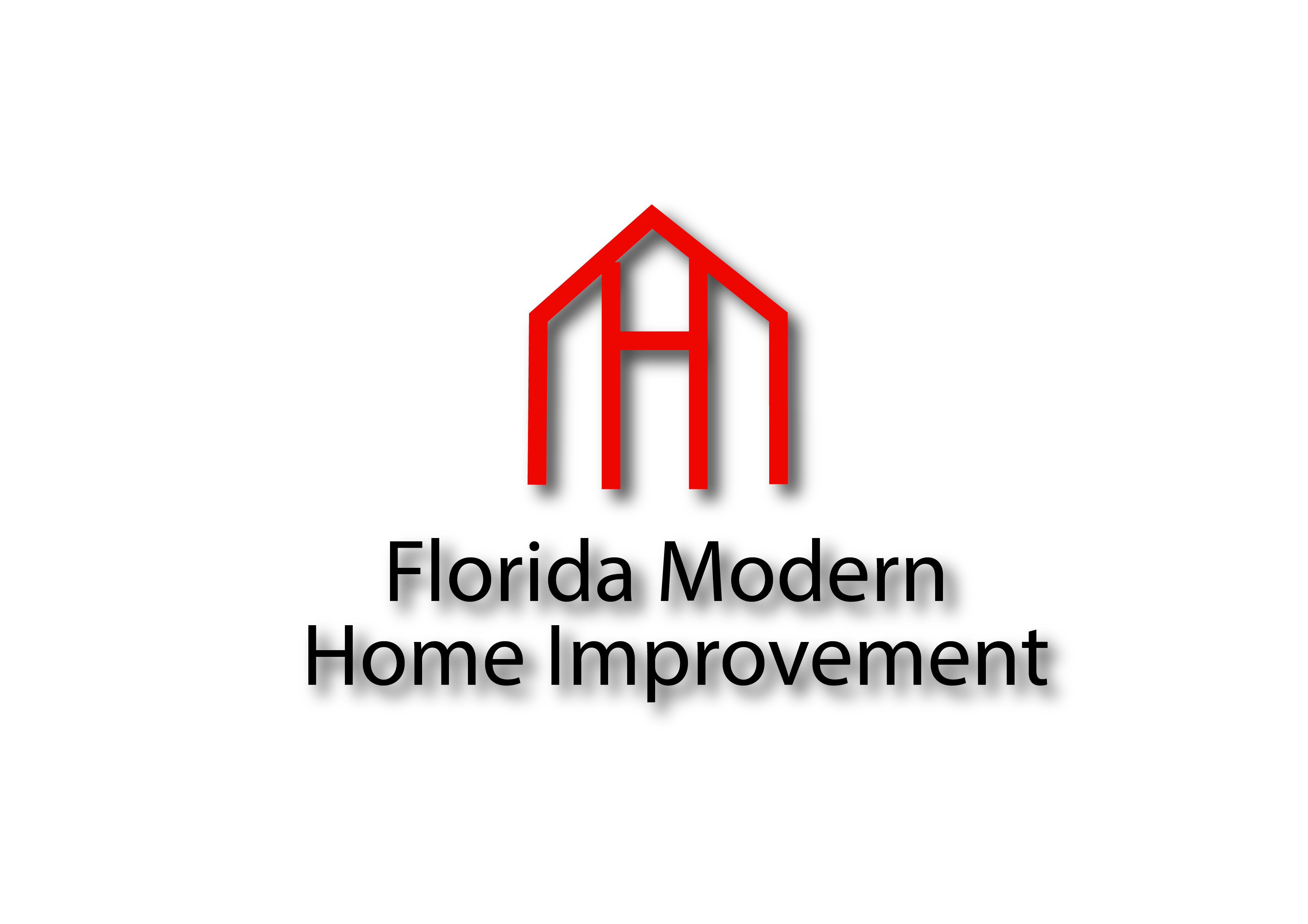 Bold modern home improvement logo design for florida for Modern house logo