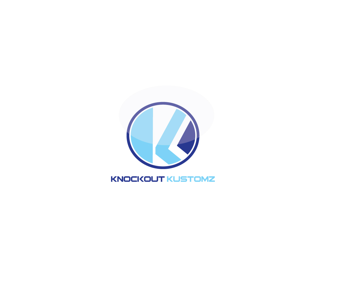 Masculine bold shop logo design for knockout kustomz by for Logo creation wizard