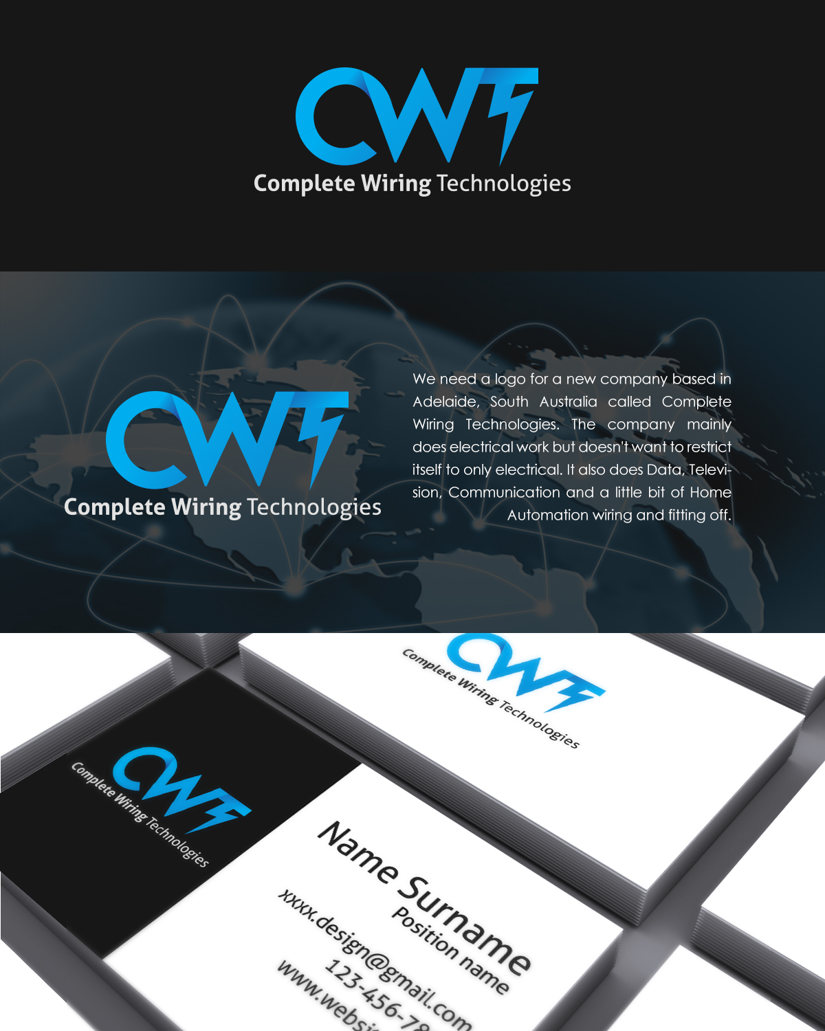 Modern Playful Electrical Logo Design For Complete Wiring Home Designs By Polosontos This Project 9235341