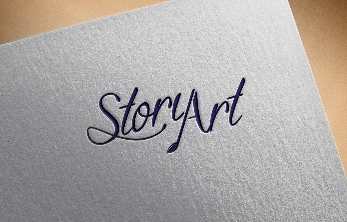 Upmarket Elegant Logo Design For Story Art By Afhama