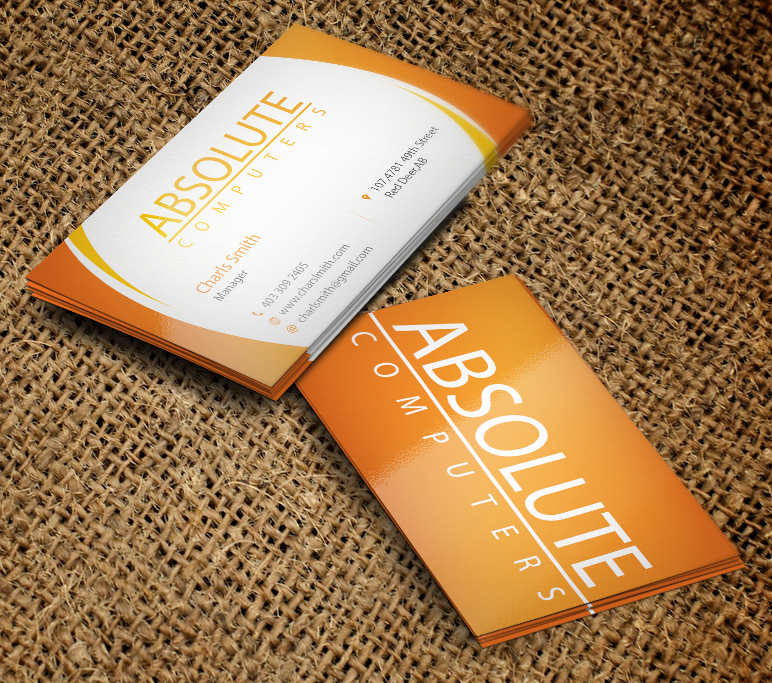 Bold modern business card design for pressed art by bold modern business card design for company in canada design 9243013 reheart Gallery