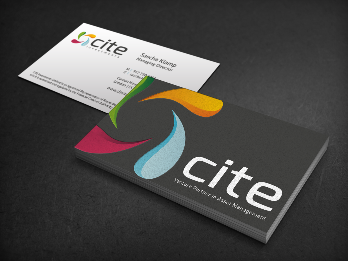Elegant, Professional Business Card Design for CITE Investments by ...