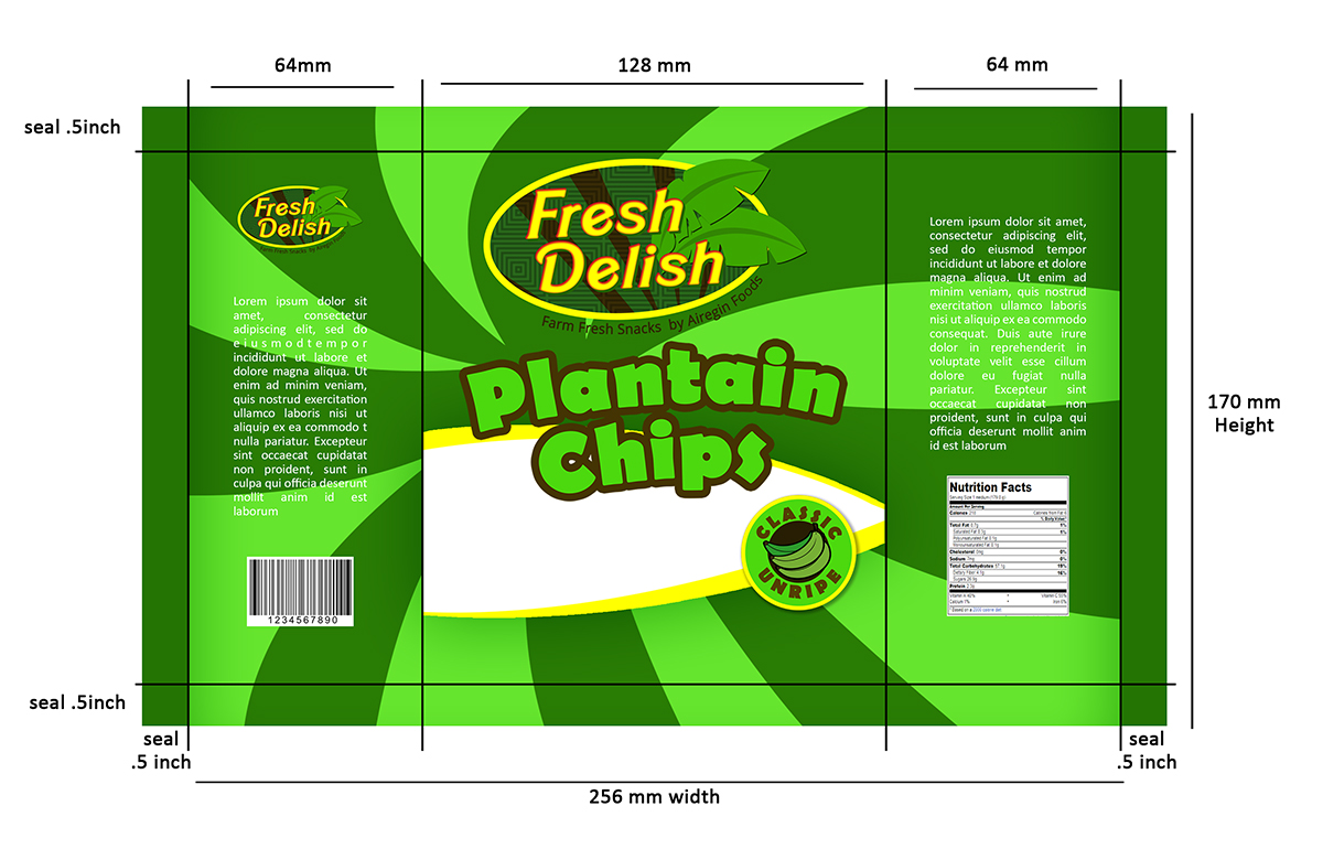 Modern, Bold, It Company Packaging Design for Delight in