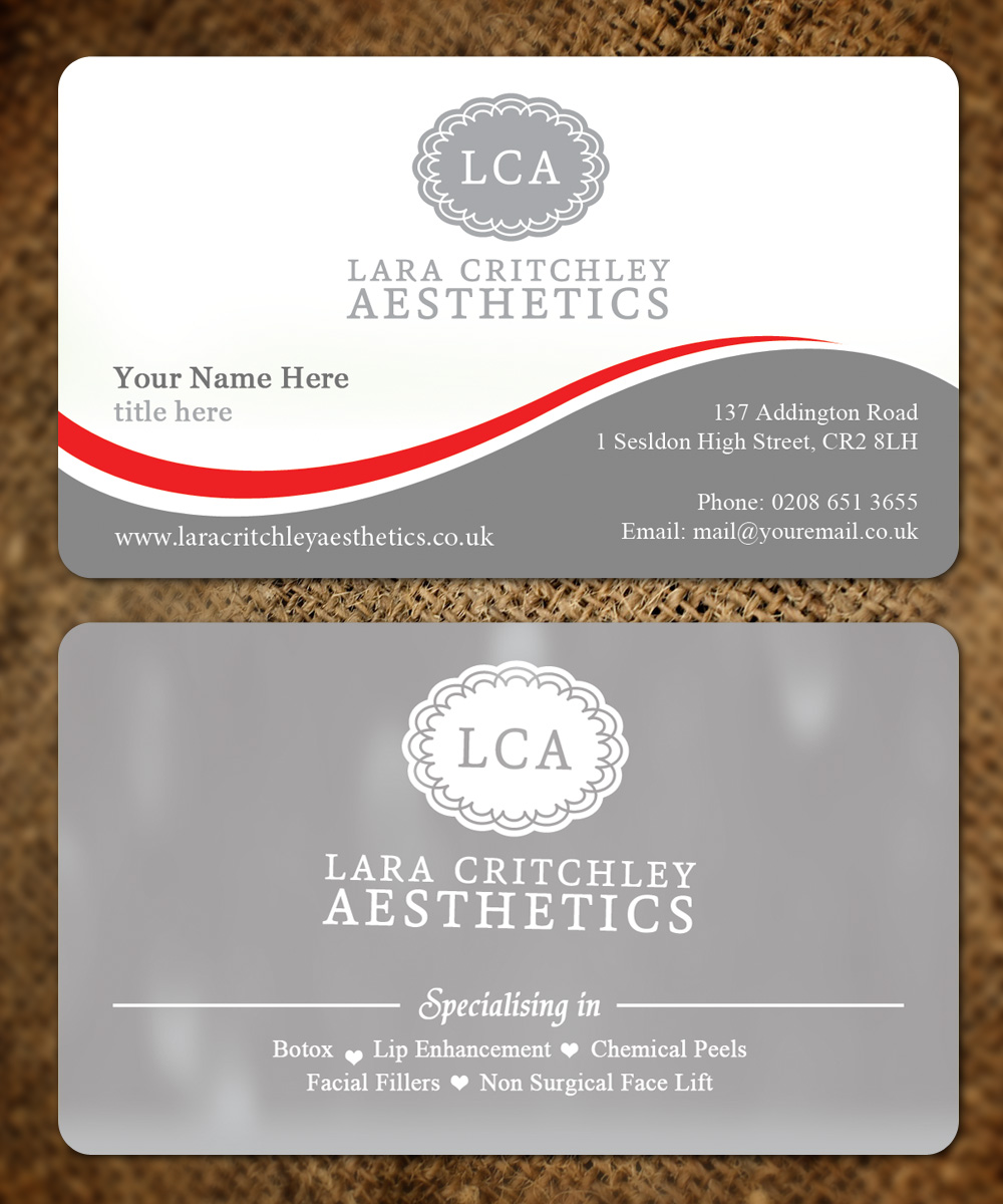 Modern, Elegant, Business Business Card Design for LCA by Sandaruwan ...