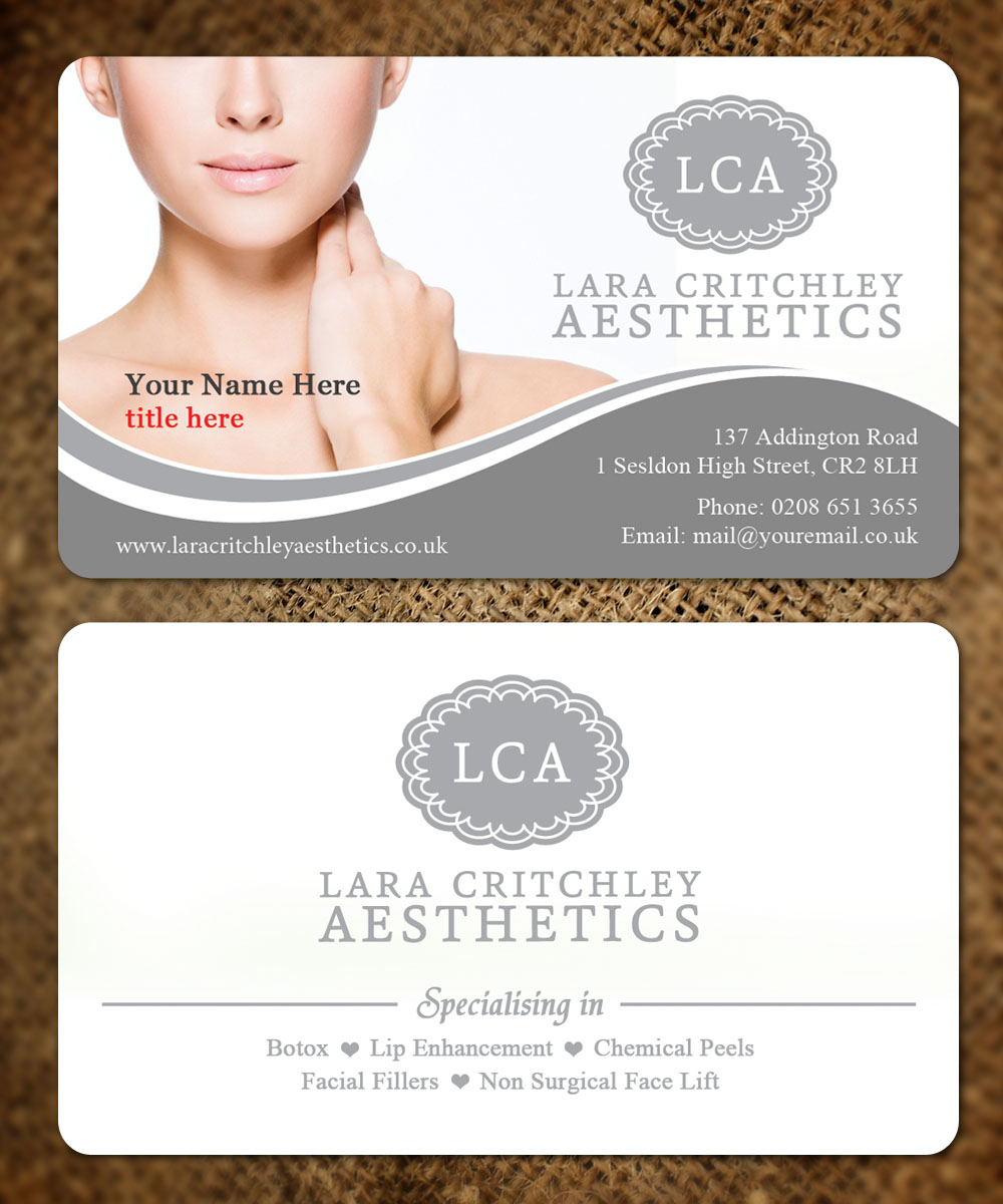 Modern, Elegant Business Card Design for LCA by Sandaruwan | Design ...