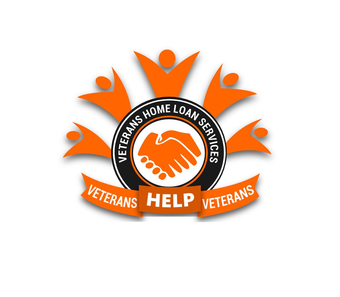 elegant playful business logo design for name veterans home loan